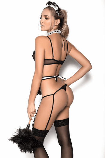 French Maid Lingerie Costume