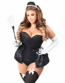 Frisky French Maid Corset Costume