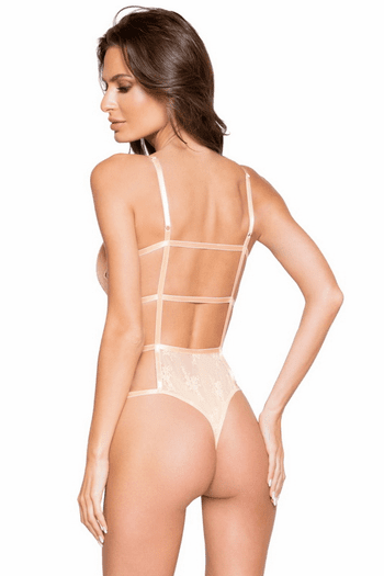 Full Front Cover Lace Teddy