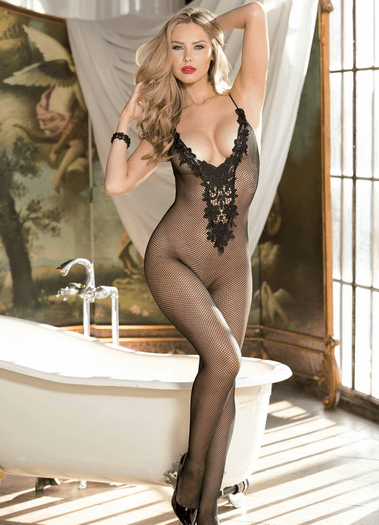 Fun In The Sun Fishnet Bodystocking