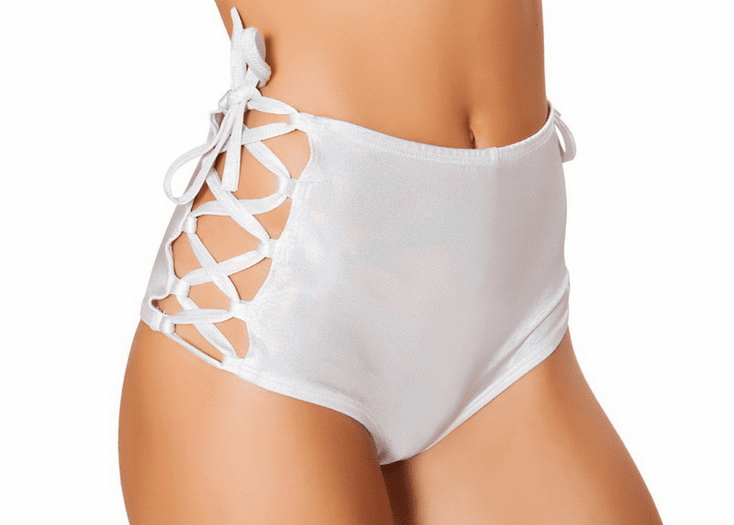 Funky Lace-Up Short