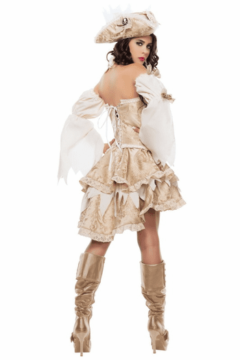 Ghost Ship Pirate Sexy Costume