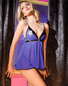 Give It Up Sexy Police Bedroom Babydoll Costume Set