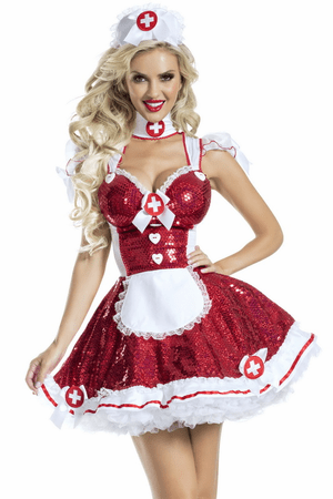 Glam Nurse Costume