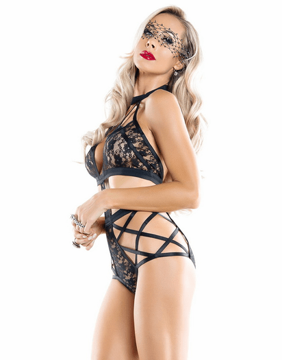 Gorgeous Girl Lace Teddy