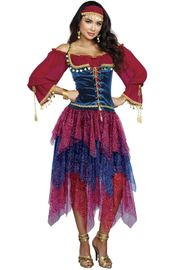 Gorgeous Gypsy Girl Costume