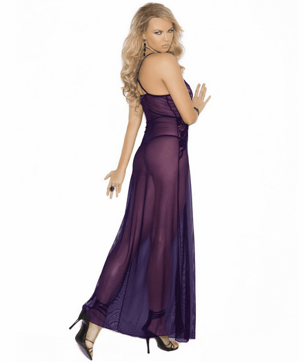 Gorgeous Mistress Sheer Gown