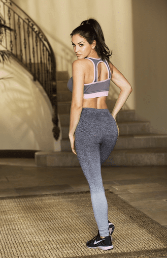 Grey Run This Sexy Work Out Pants