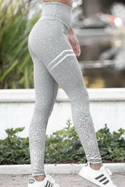 Grey & Sliver Yoga Pants