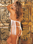 H.O.T. For You Fringe Babydoll & Thong Set