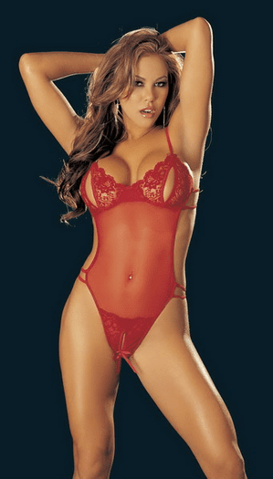 H.O.T. Sexy Crotchless Teddy
