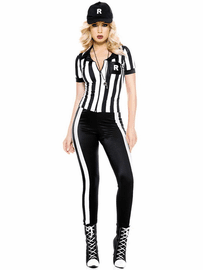 Half Time Referee Sexy Costume
