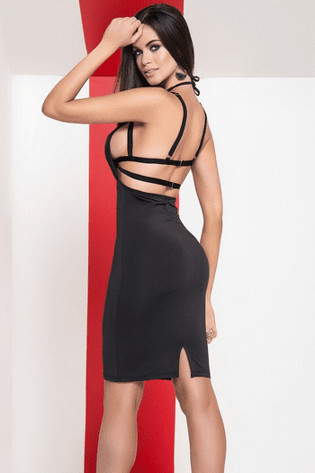 Halter Harness Dress