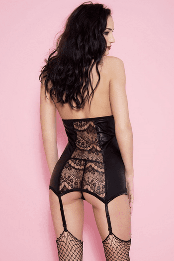 Haltered Lace Chemise