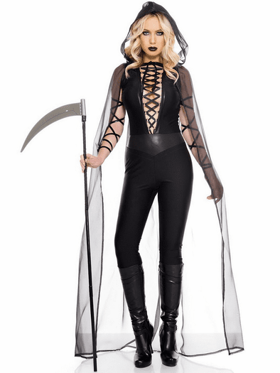 Grim Reaper Costumes, Horror Costumes, Halloween Scary Costumes-7460