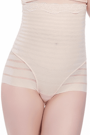 High Waisted Sheer Brief