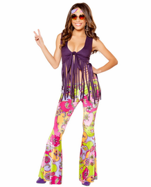Hippie Lover Sexy Retro Costume