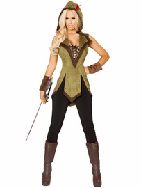 Hooded Outlaw Costume