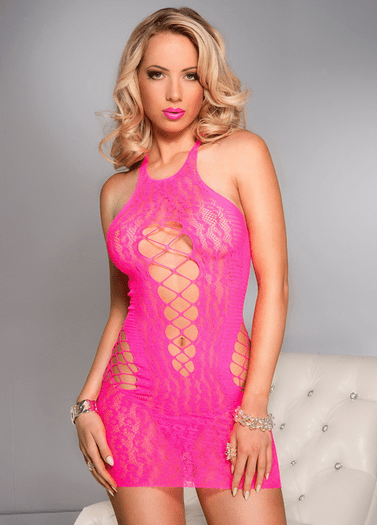 Hot Pink Lover Sexy Chemise