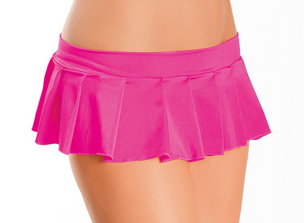 Hot Pleats Sexy Mini Skirt