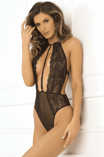 Hot Pursuit Lace Teddy