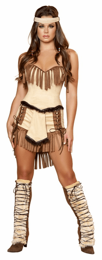 Indian Mistress Sexy Costume