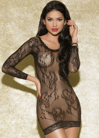 Inviting Lace Chemise