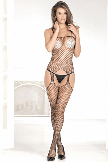 Irresistible Suspender Bodystocking