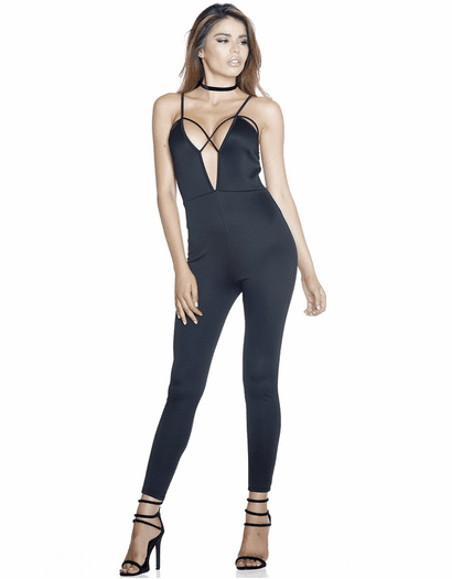 Jumping For Joy Sexy Jumpsuit