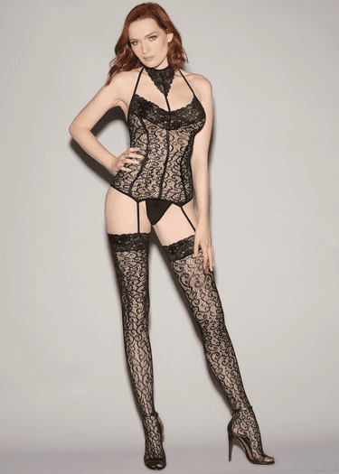 Just Right Lace Bodystocking