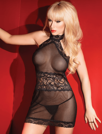 Just So Kissable Sexy Chemise