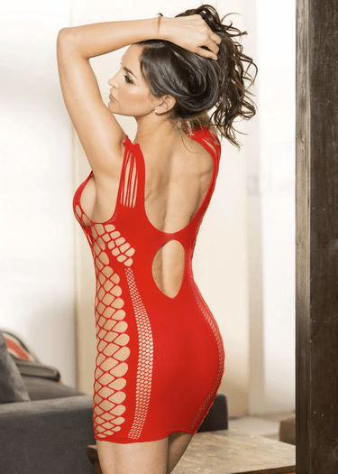 Just The Way You Are Fishnet Chemise
