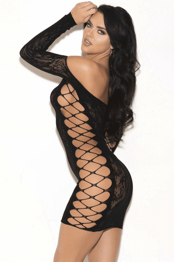 Kiss Me All Over Lace Chemise