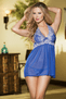 Kiss Me Babydoll & G-String Set