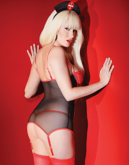 Kissable Collection Nurse Top & G-String