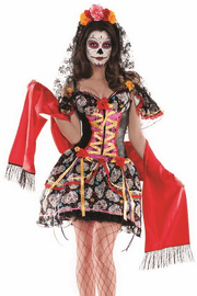 La Catrina Body Shaper Costume