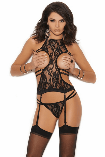 Lace Anisette & G- String Set
