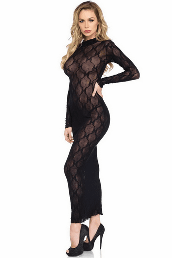 Lace Bodycon Gown