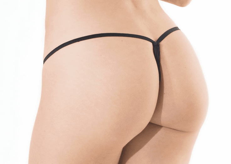 Dual Color Lace G-String