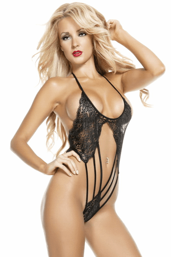 Lace Intoxication Strappy Teddy