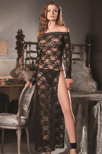 Lace & Love Sexy Long Gown