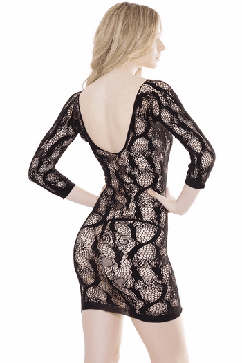 Lace Net Dress