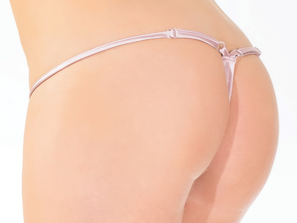 Lace & Satin Sexy Adjustable G-String