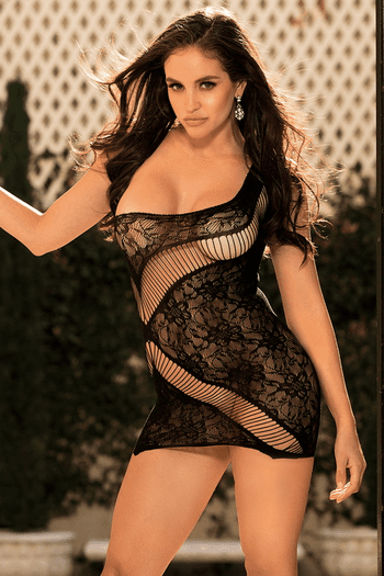 Lace Strappy Chemise