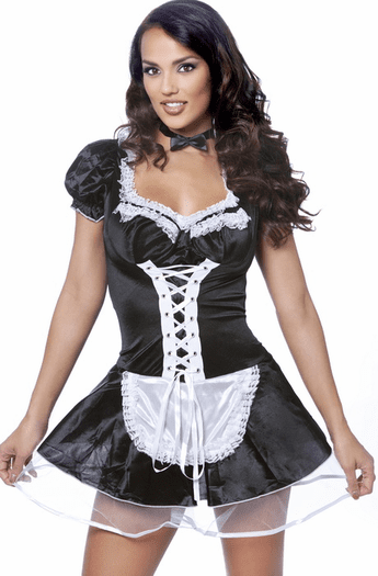 Late Night Sexy Maid Costume