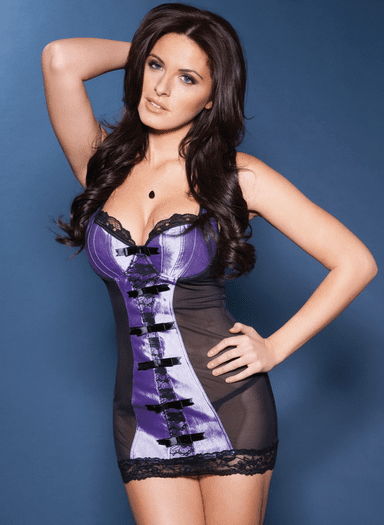 Lavender Intoxication Sexy Chemise