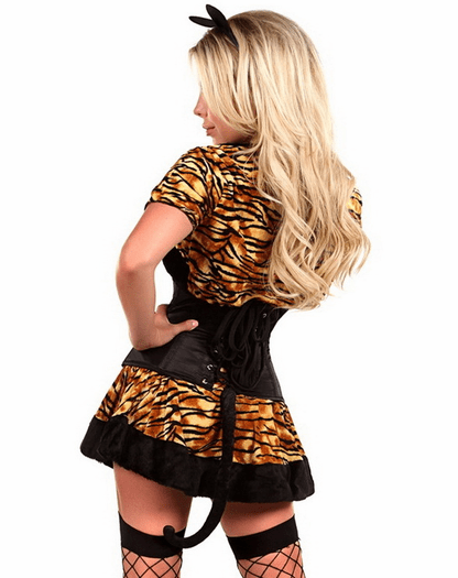 Lavish Sexy Tigress Costume