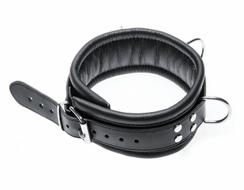 Leather Bondage BDSM Leather Collar