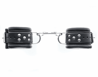 Leather Bondage BDSM Wrist Cuffs