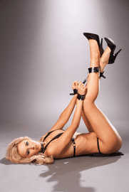 Leather Wrist to Ankle Restraints